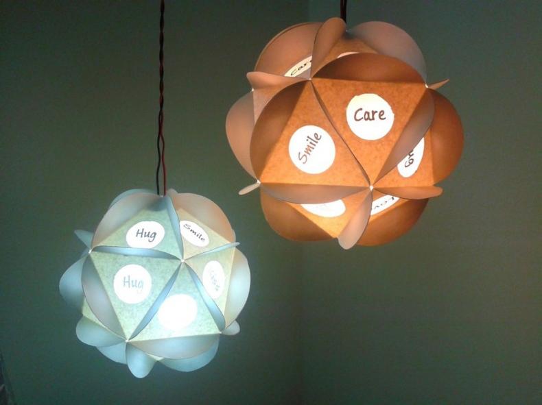 TLC Pendant Paper Lamp