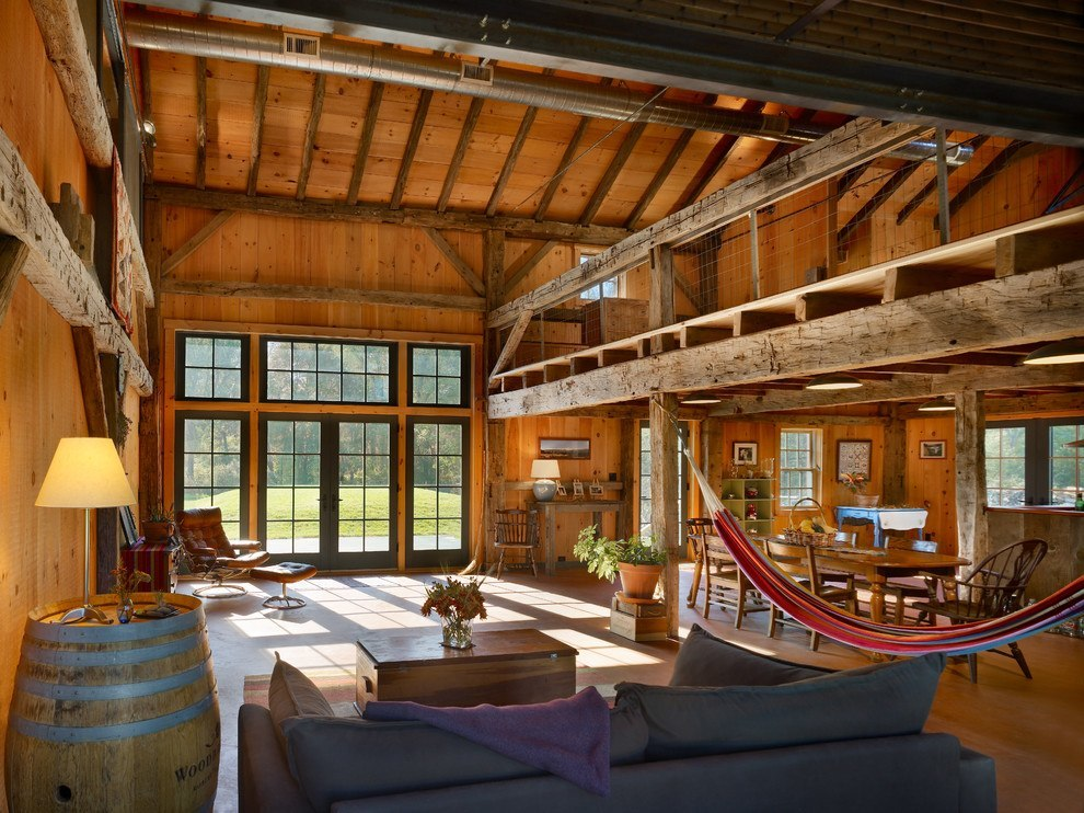 Neglected Princeton barn was renovated and turned into a home
