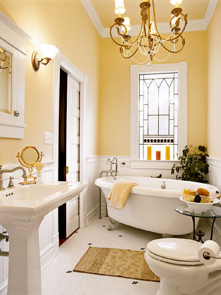 this small bathroom picture shows a design characterize by elegance