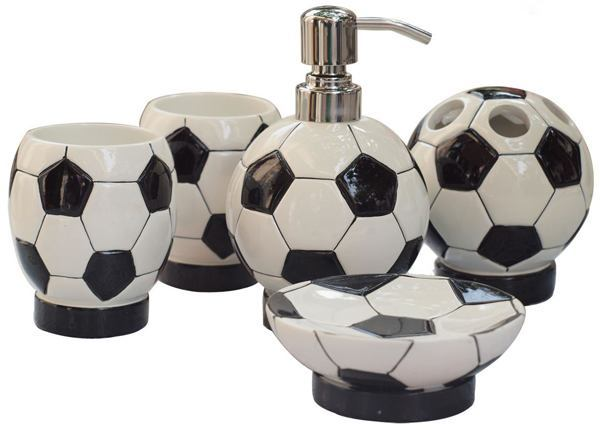 Fun soccer themed accessories