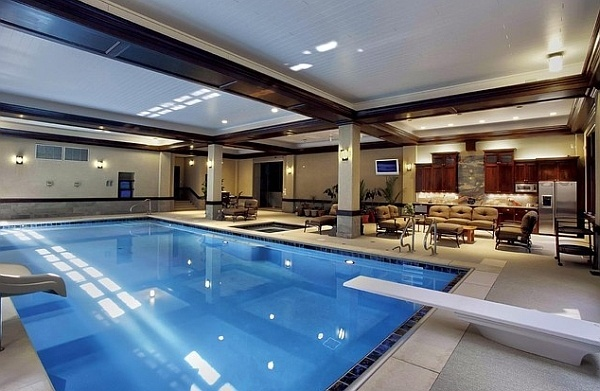 Custom indoor swimming pool