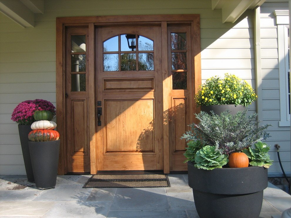 Front door with with a European twist