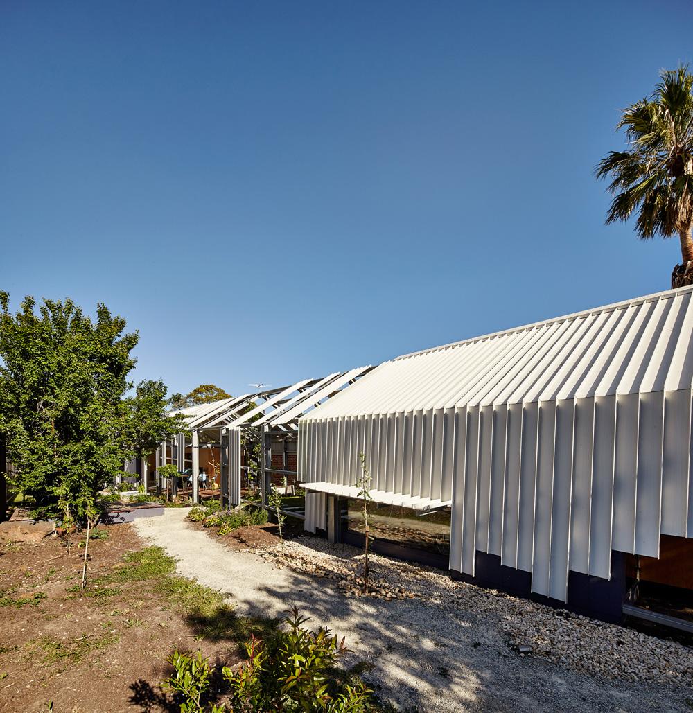 Rectangular house structure