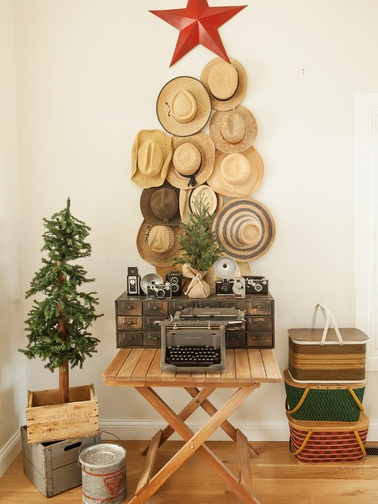10 Homemade Christmas Tree Stands Interior Design Ideas