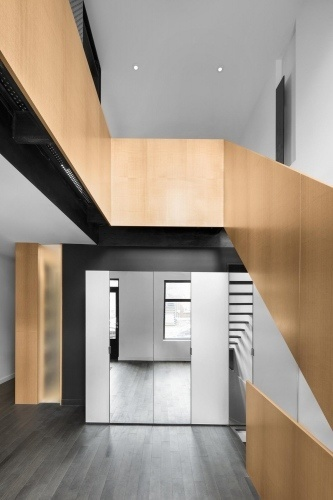 clear view of staircase