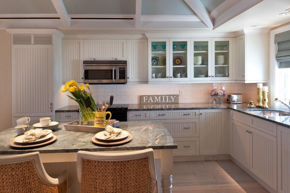 Gray Limestone Kitchen Countertops : Kitchens with gray granite countertops