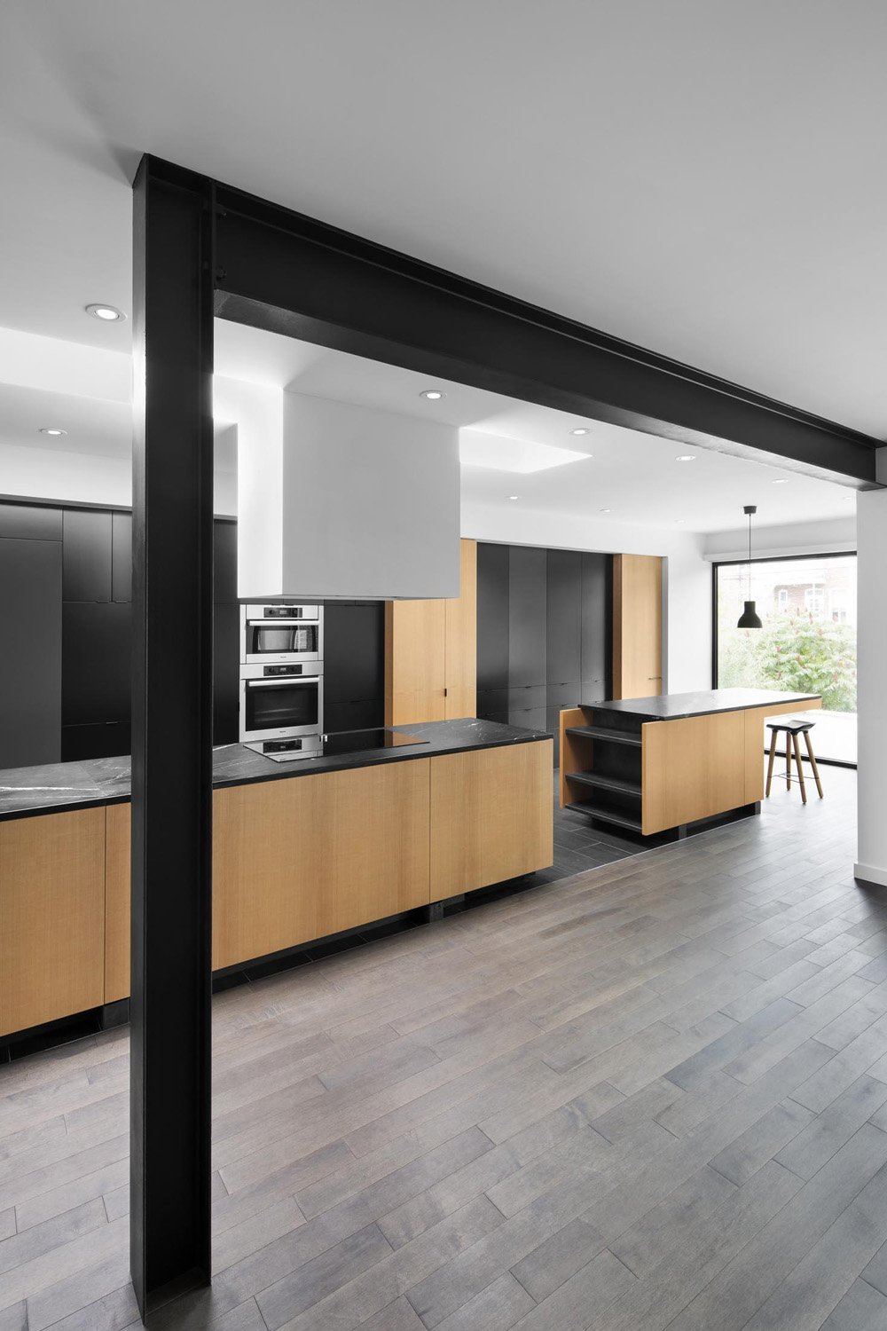kitchen floors and cabinets