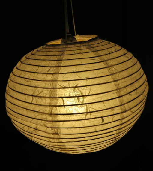 spherical paper light