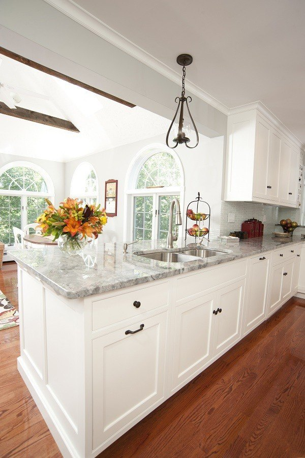 Kitchen Gray Countertops : Kitchens with gray granite countertops
