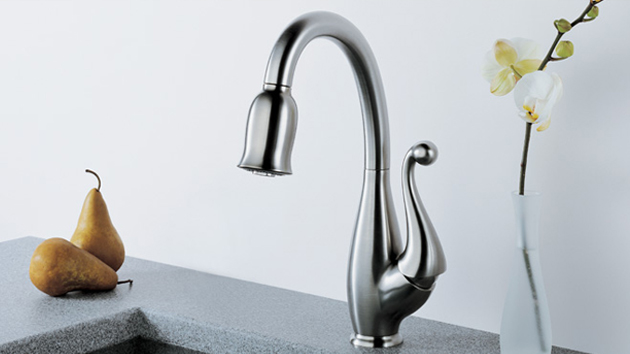 Kitchen faucets are incorporating creativity