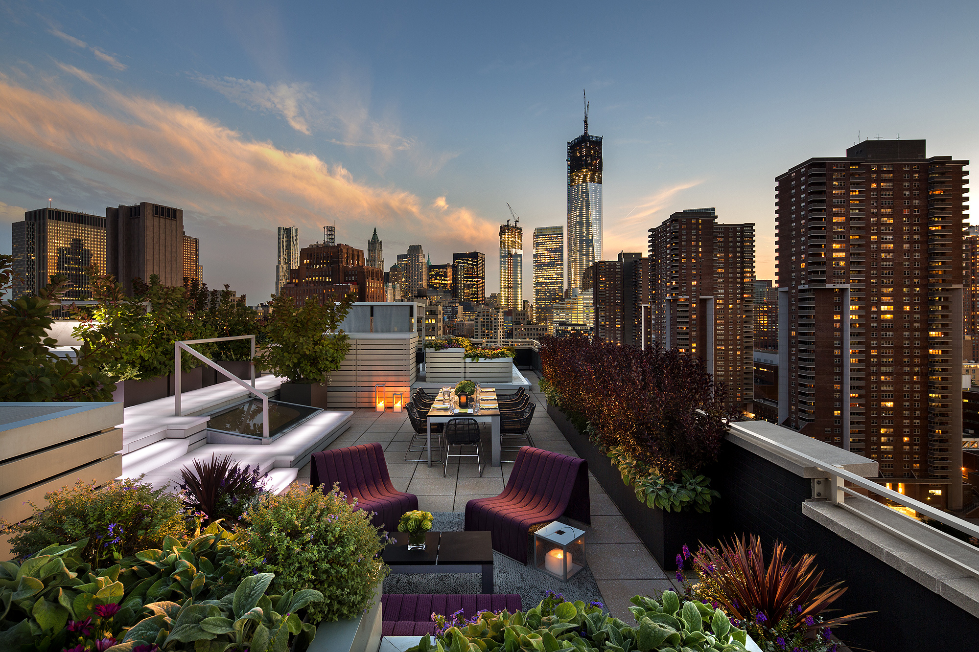 Roof Design Ideas: Live It Up With These Roof Garden Designs
