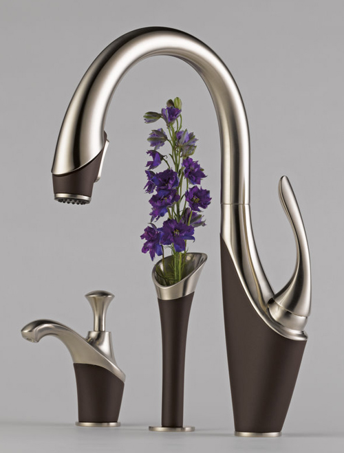 Modern unique kitchen faucet designs Designer kitchen faucets