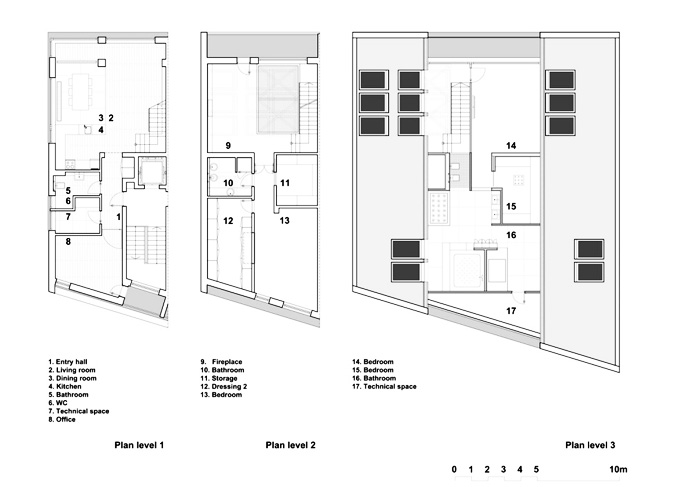 House interior drawings