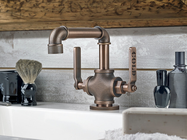 Industrial kitchen pipe faucet