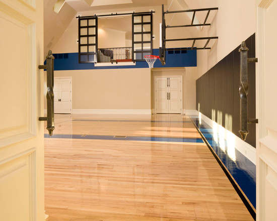 Light and airy sports court