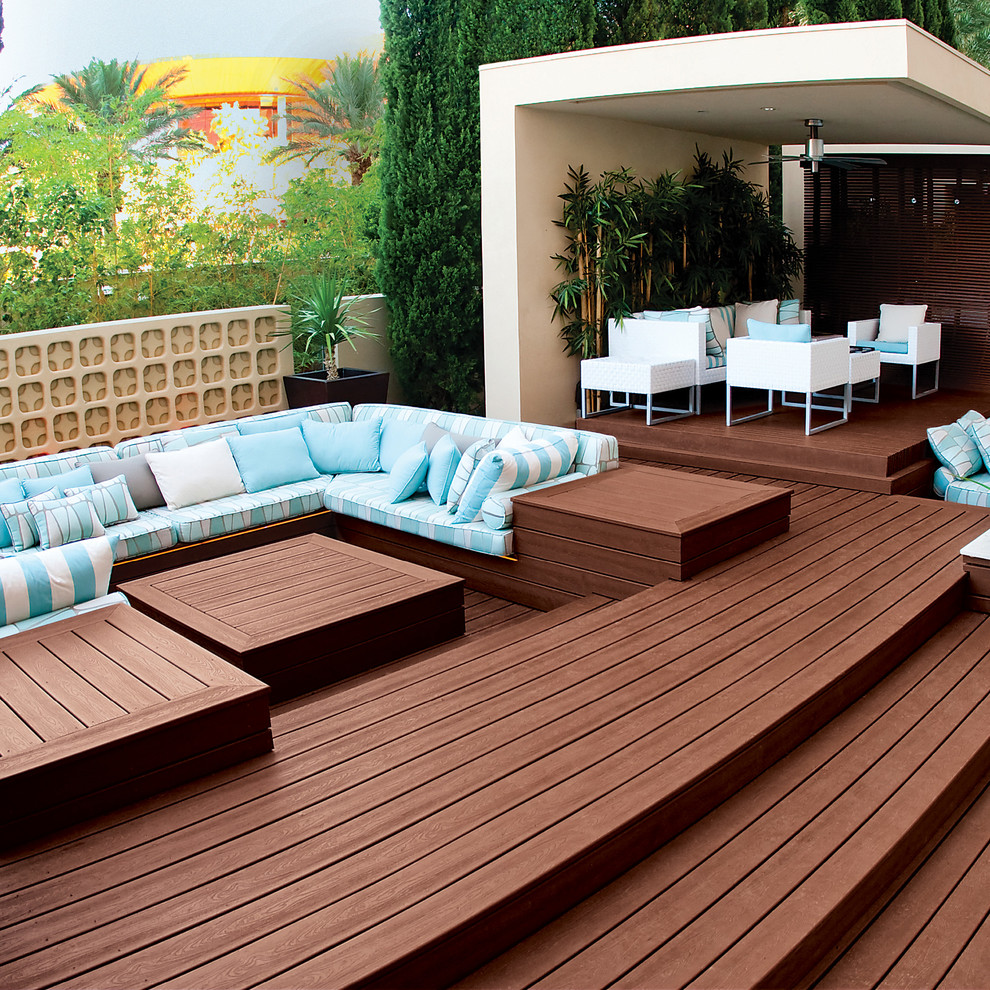 Outdoor patio space