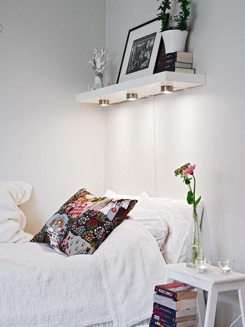 White bedrooom design