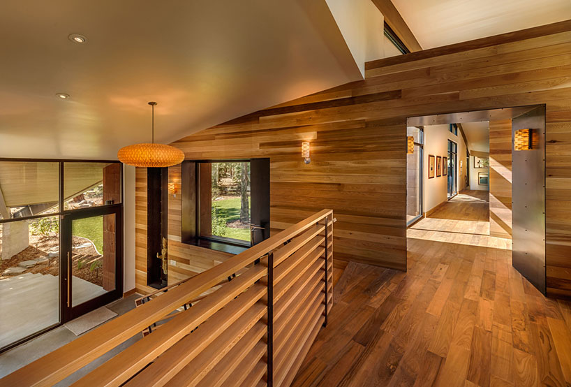 Box like area in wooden flooring