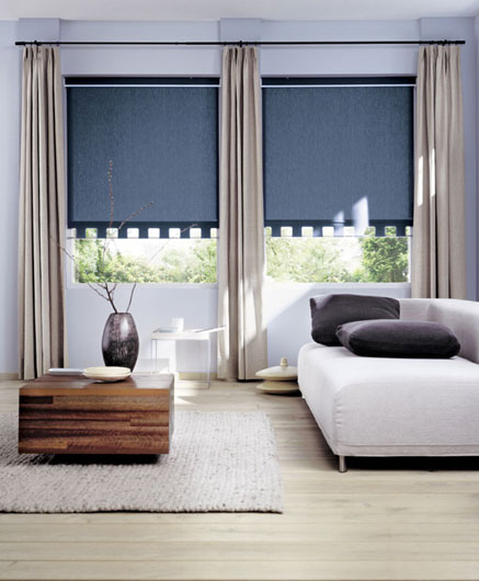 Roller blinds are perfect for hot weathered places