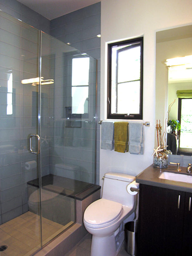 How to make small bathroom bigger - Ideas For The Small Shower Room