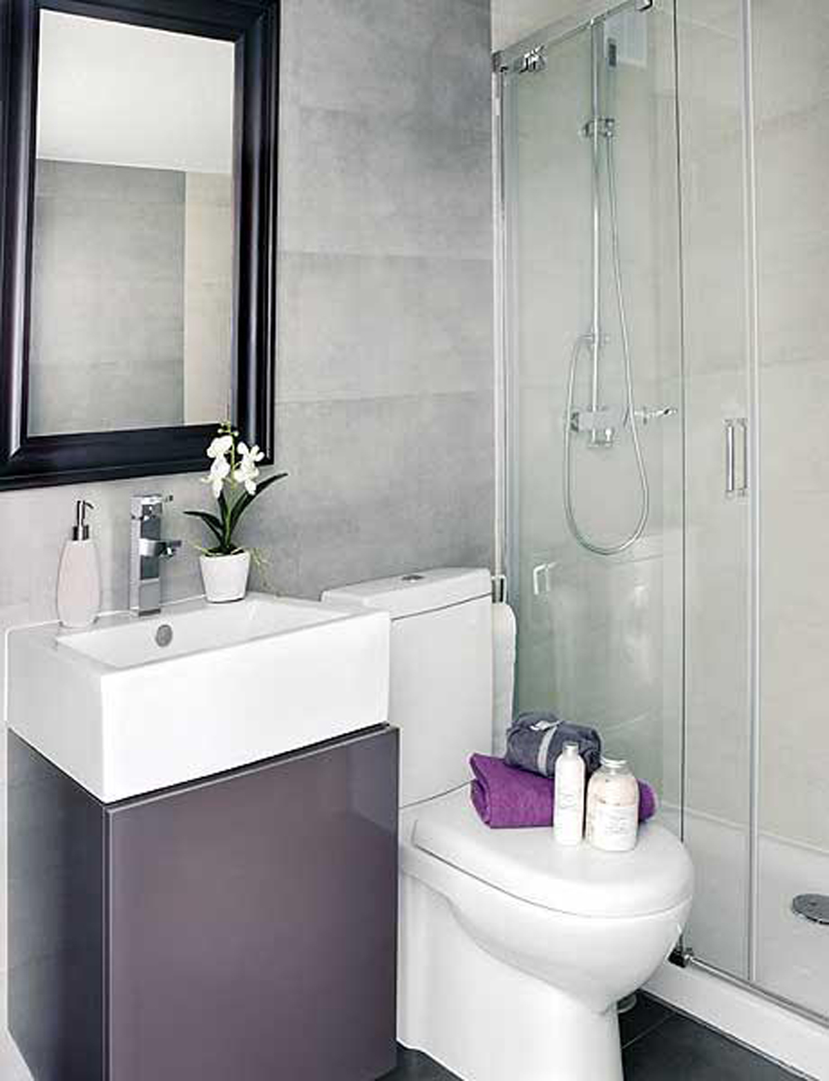 Toilet Room Designs: Ideas For The Small Shower Room