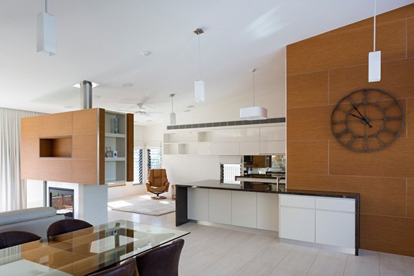 Elegant kitchen area