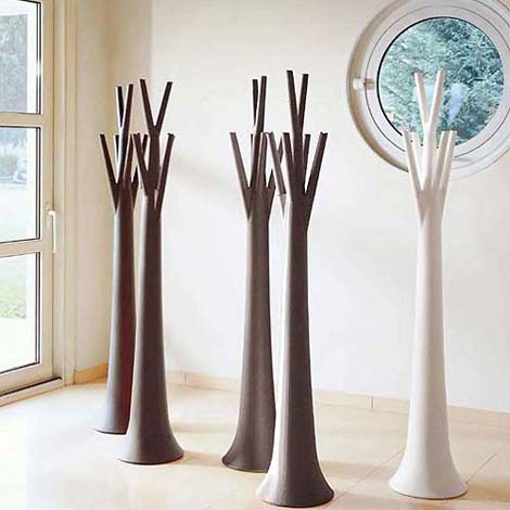 tree coat stands decor