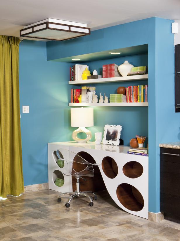 Desk with fantastic storage designs