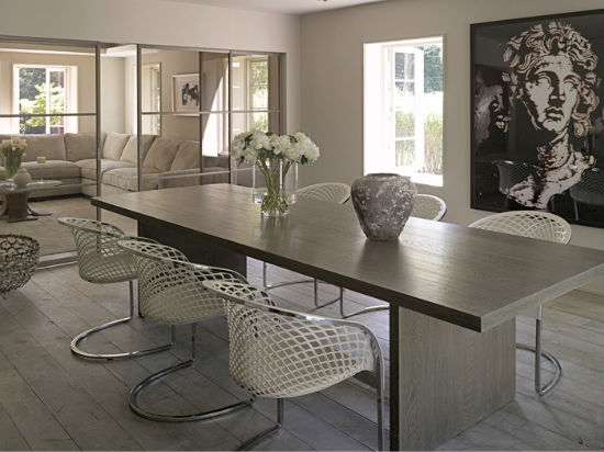 Cool and wonderful beige table