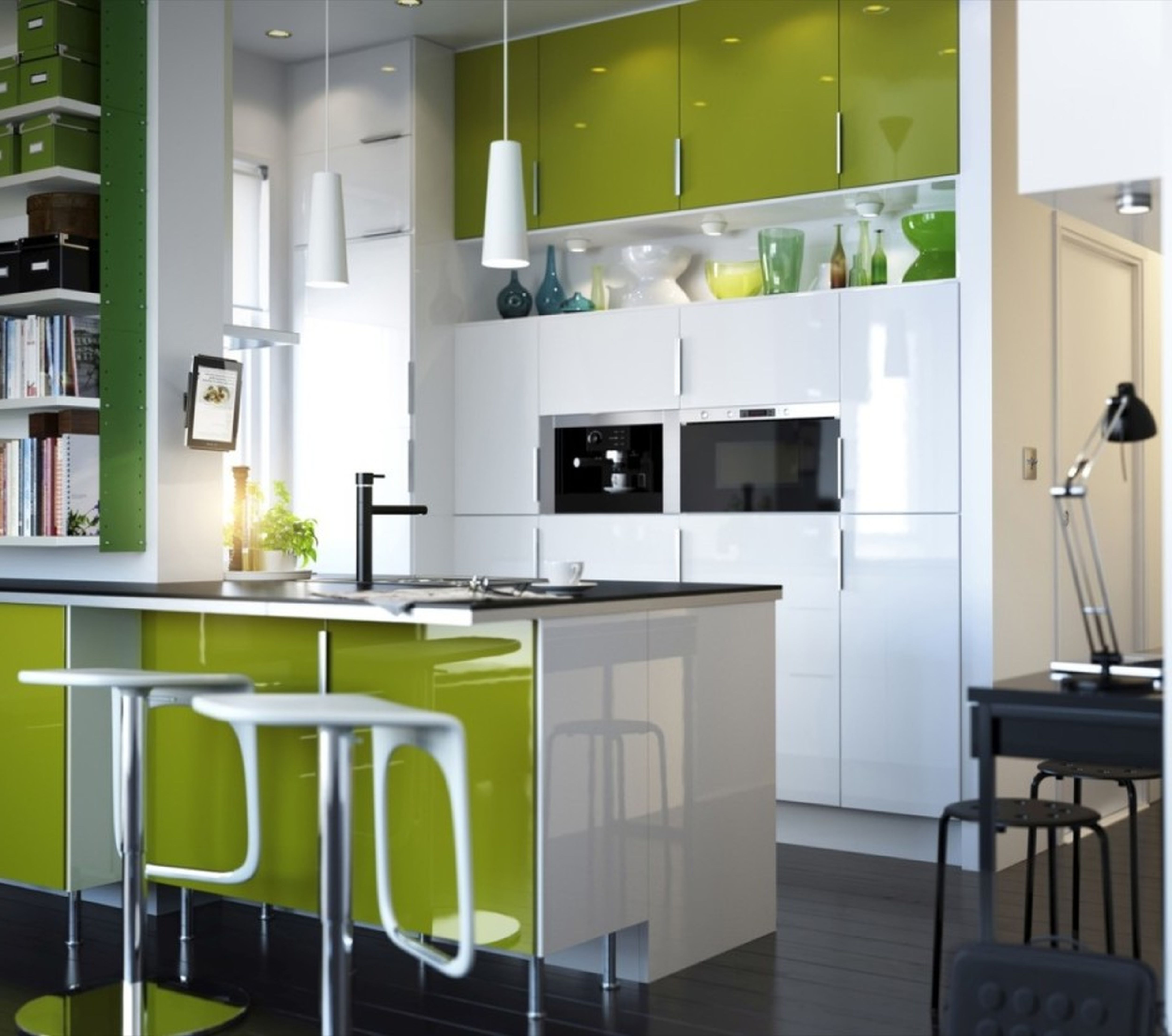 Lime Green Kitchen Ideas: Interior Design Ideas For Apartment Living
