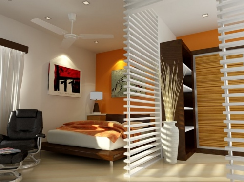 small-bedrooms-with-creative-wood-divider