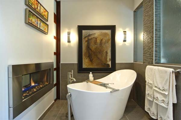 Fantastic bathroom design