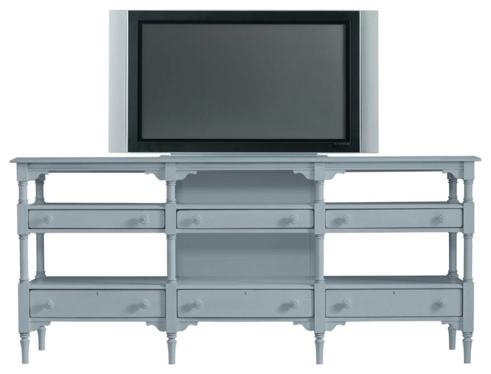 "High glossy white 60""L Tv console with tempered glass"