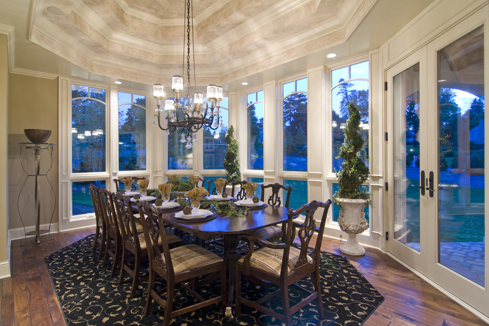 Oversized dining room
