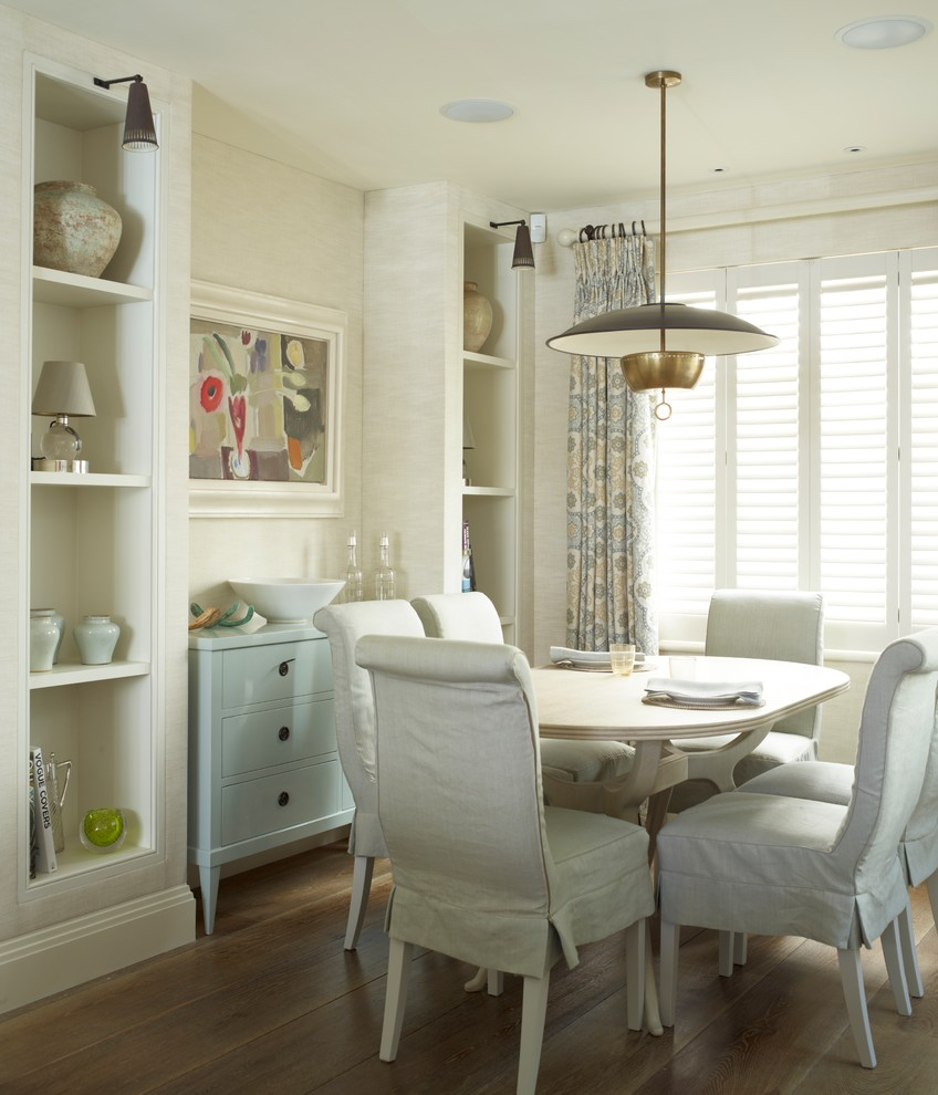 Dining room with charming decor