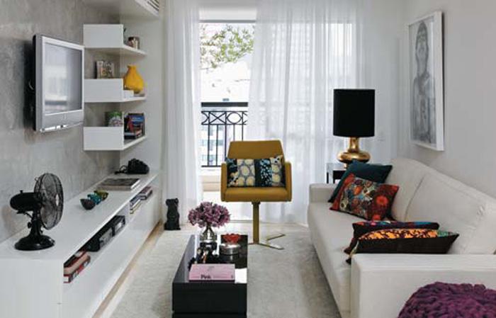 Lovely small living room design