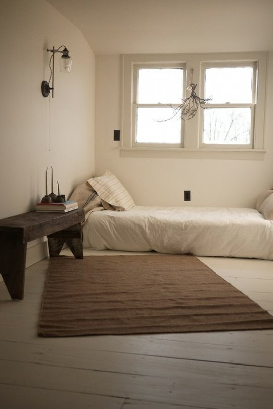 Relaxing and serene zen room designs for Minimalist single bedroom