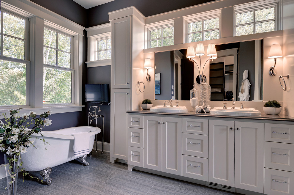bathroom with countertop