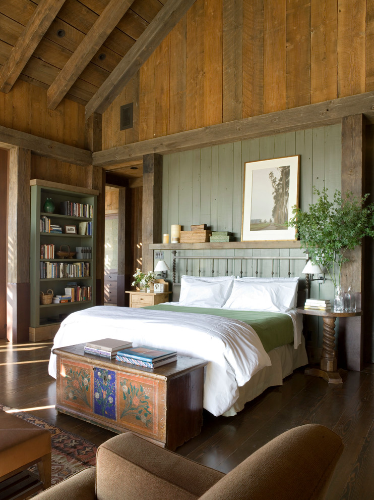 Craftsman style bedroom