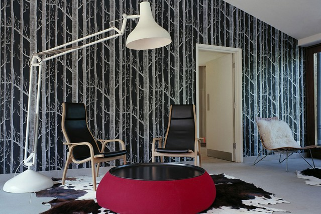 Wallpaper Accent Wall How To Do It Right Interior Design Ideas Rh Faburous  Com 3d Wallpaper. Tree Branches Feature Wallpaper Living Room.