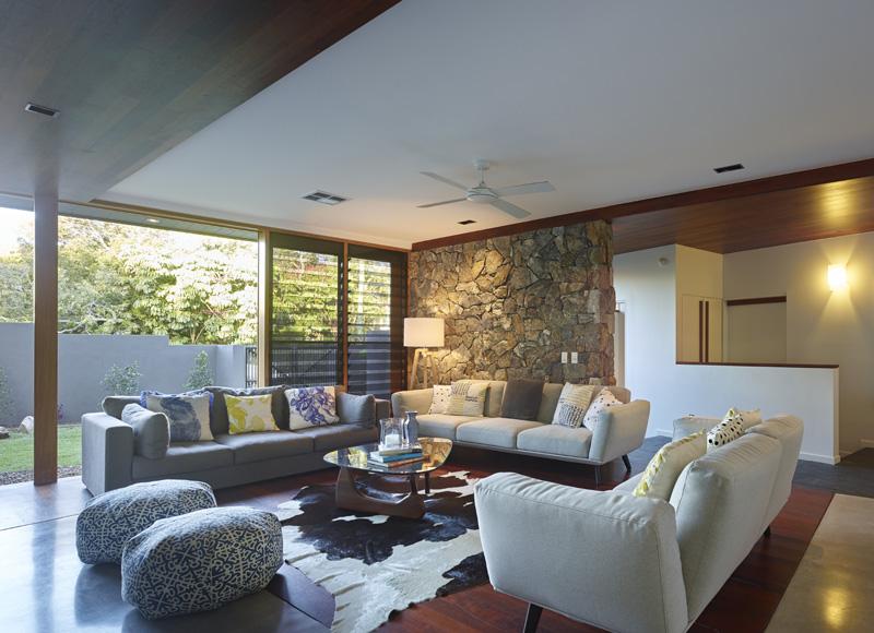 sunshine beach house living room