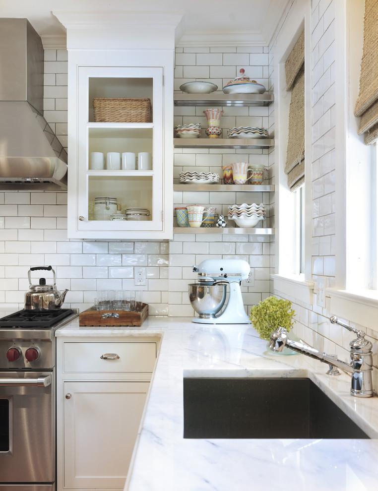 White Kitchen Backsplash Ideas: Victorian Kitchen Ideas