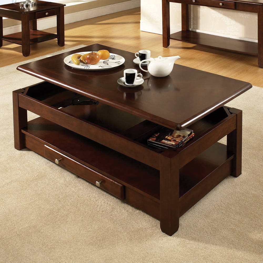 Lift Table Coffee Table: Unique Coffee Tables With Hidden Compartments