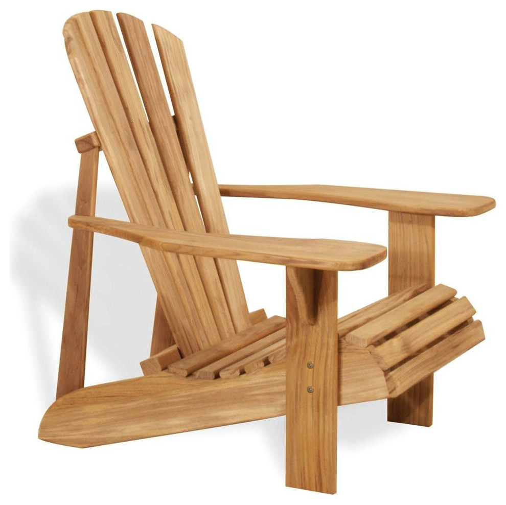 Wooden lounging chair