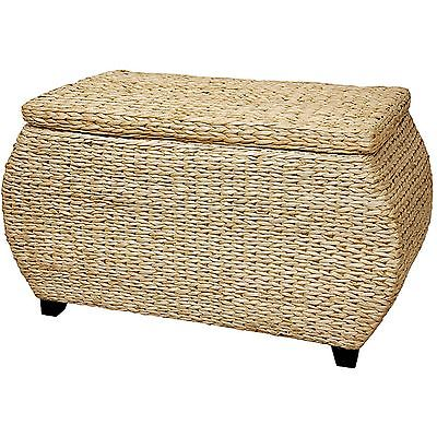 Rattan chest box