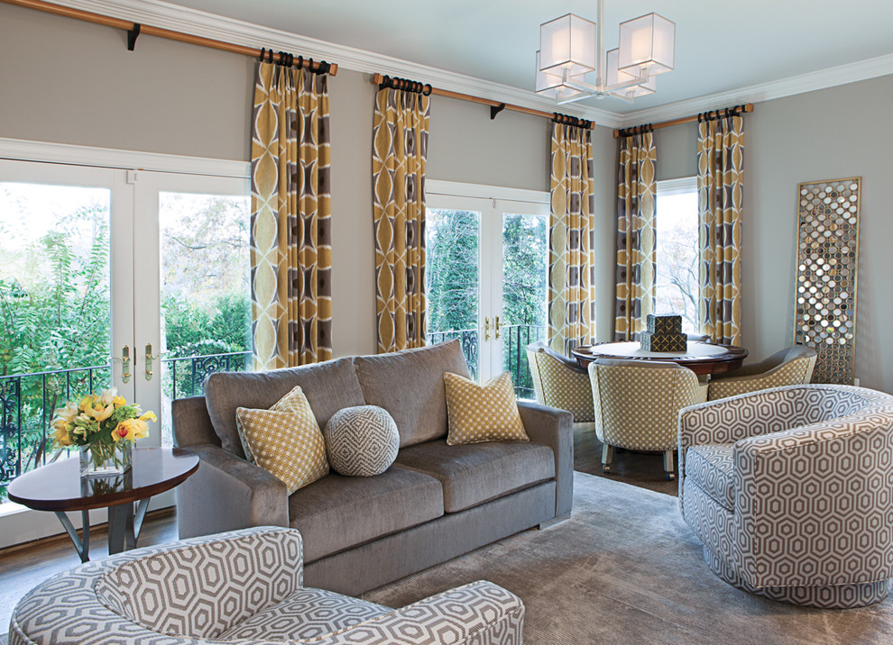 Transtional family room