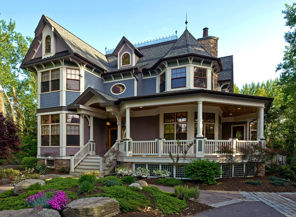 Victorian house exterior colour schemes and styles for New homes that look old