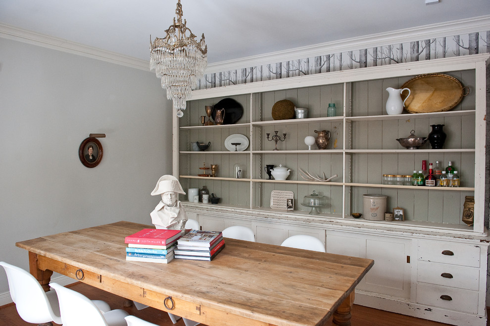 Dining area with a dresser