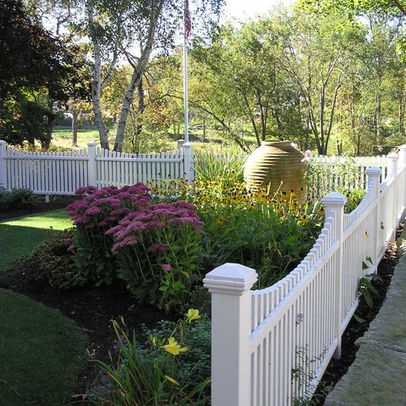 stylish-fence Small House Design Front Yard Fence on