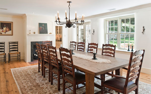 pine chairs dining